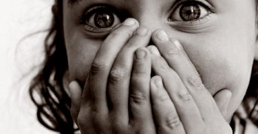 Ausdruck der Angst