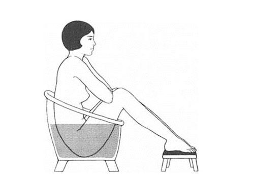 Kneipp Sitzbad zu Hause