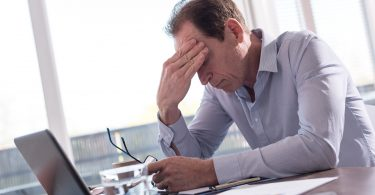 Psychische Probleme durch Arbeitsbelastung