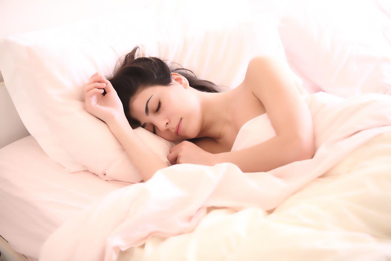 Gut durchschlafen.