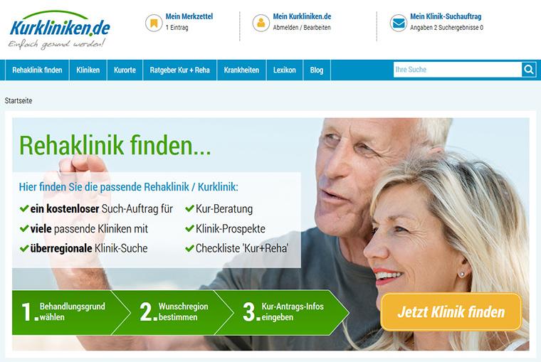 Das Neue Kurkliniken.de