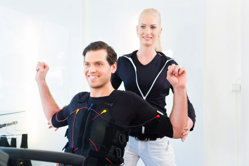 EMS-Training mit Personal Trainerin