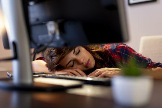 Schlaf als Augenpflege