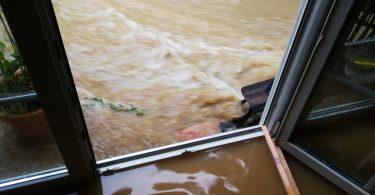 Überschwemmung Büroräume Kurkliniken.de